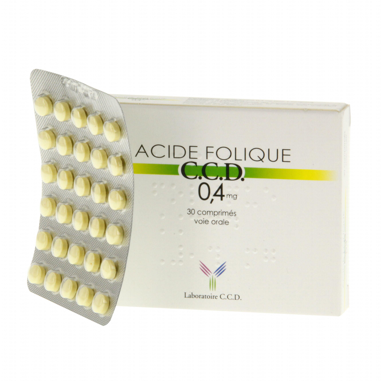 acide folique et ovulation
